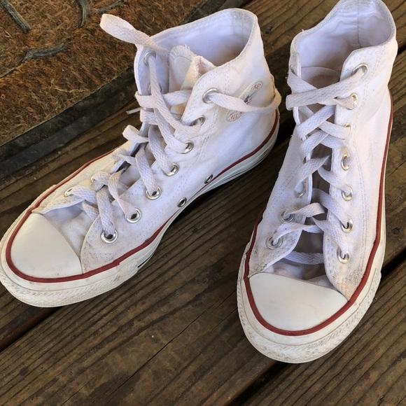 Converse Shoes   White Converse High